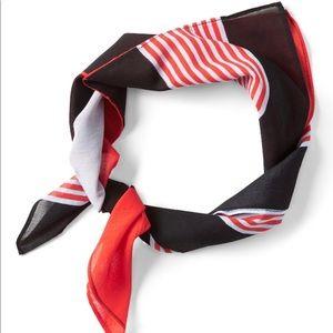 Banana Republic bold striped bandana